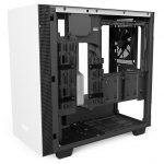 H400i Matte White Right45 OpenPanel 150x150 - NZXT presenta la nuova Serie H dei suoi case per PC