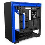 H700i Matte BlackBlue Right Open 150x150 - NZXT presenta la nuova Serie H dei suoi case per PC
