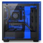 H700i Matte BlackBlue Side System 150x150 - NZXT presenta la nuova Serie H dei suoi case per PC