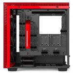 H700i Matte BlackRed Right Open Straight 150x150 - NZXT presenta la nuova Serie H dei suoi case per PC