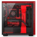 H700i Matte BlackRed Side System 150x150 - NZXT presenta la nuova Serie H dei suoi case per PC