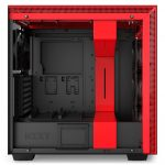 H700i Matte BlackRed Side no Glass 150x150 - NZXT presenta la nuova Serie H dei suoi case per PC