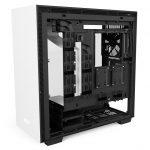 H700i Matte White Right Open 150x150 - NZXT presenta la nuova Serie H dei suoi case per PC