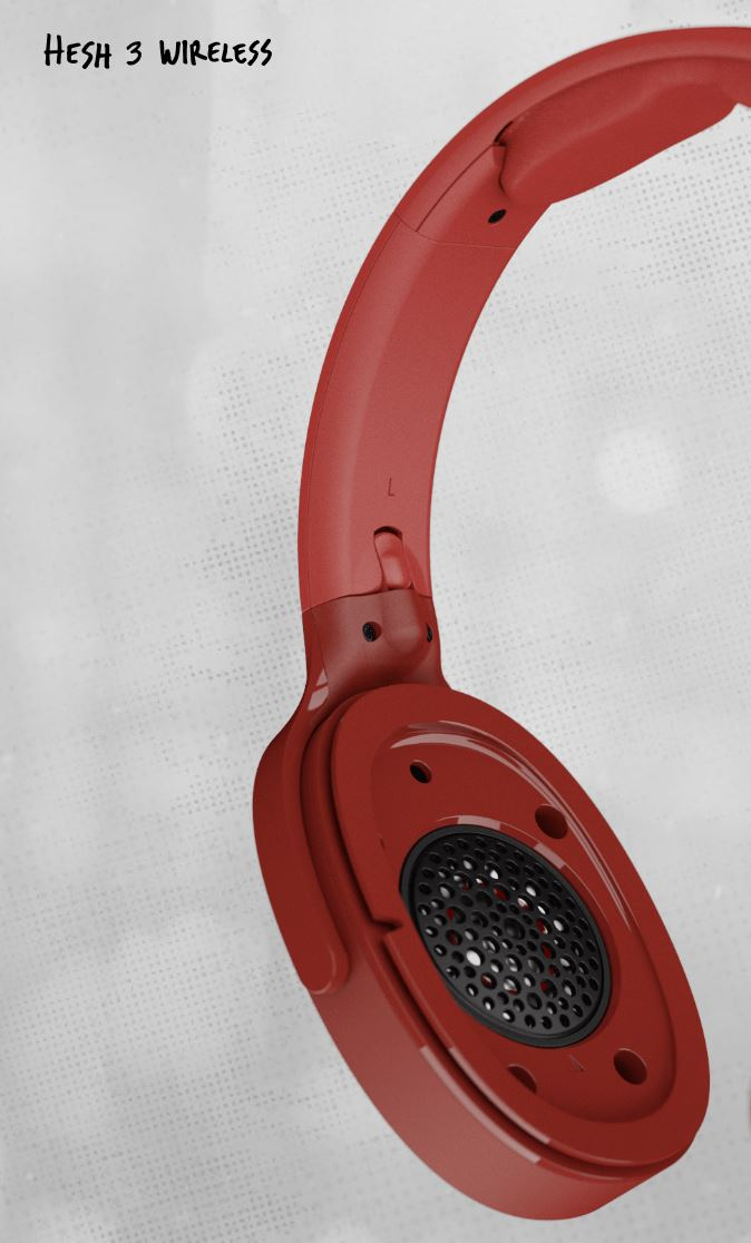 HES3red2 - Recensione Skullcandy Hesh 3 Wireless