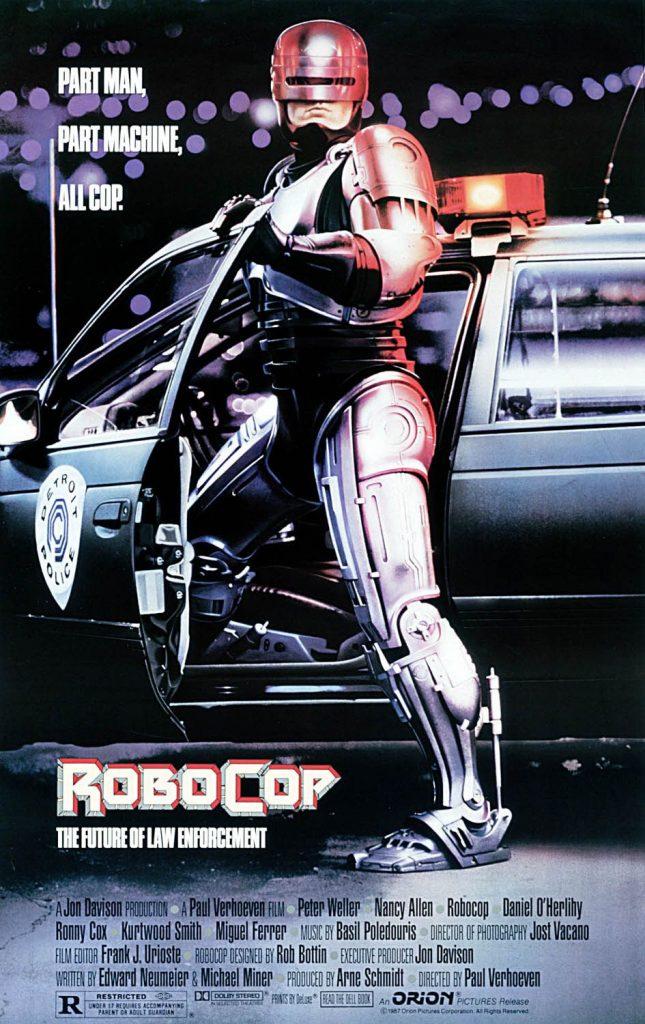 RoboCop 645x1024 - Wolfenstein II: tutti i film che hanno ispirato gli sviluppatori