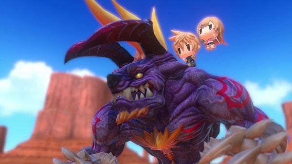 World of Final Fantasy - World of Final Fantasy, in arrivo la versione PC
