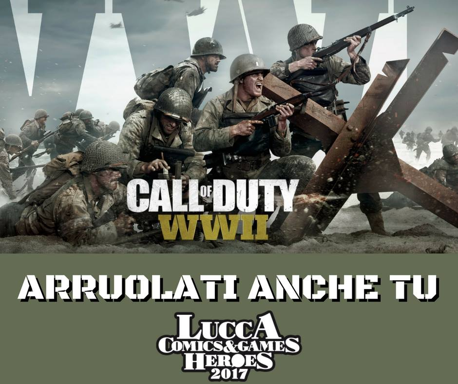 cod ww2 meme - Call of Duty: WWII: Servono soldati per il Lucca Comics & Games