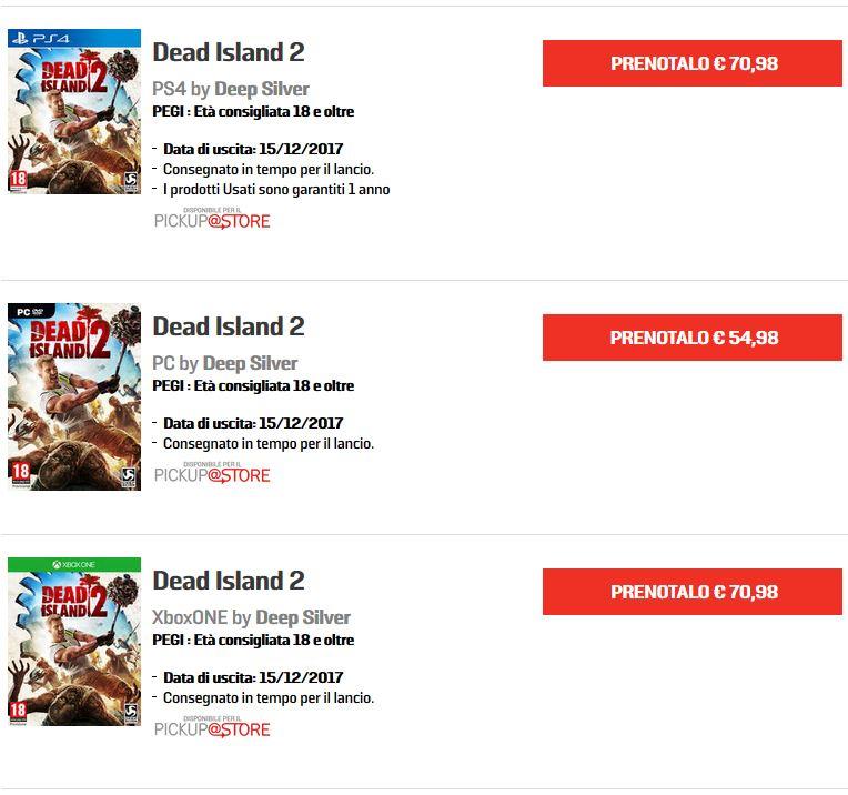 DeadIsland2data - Dead Island 2, trapelata la data d'uscita?