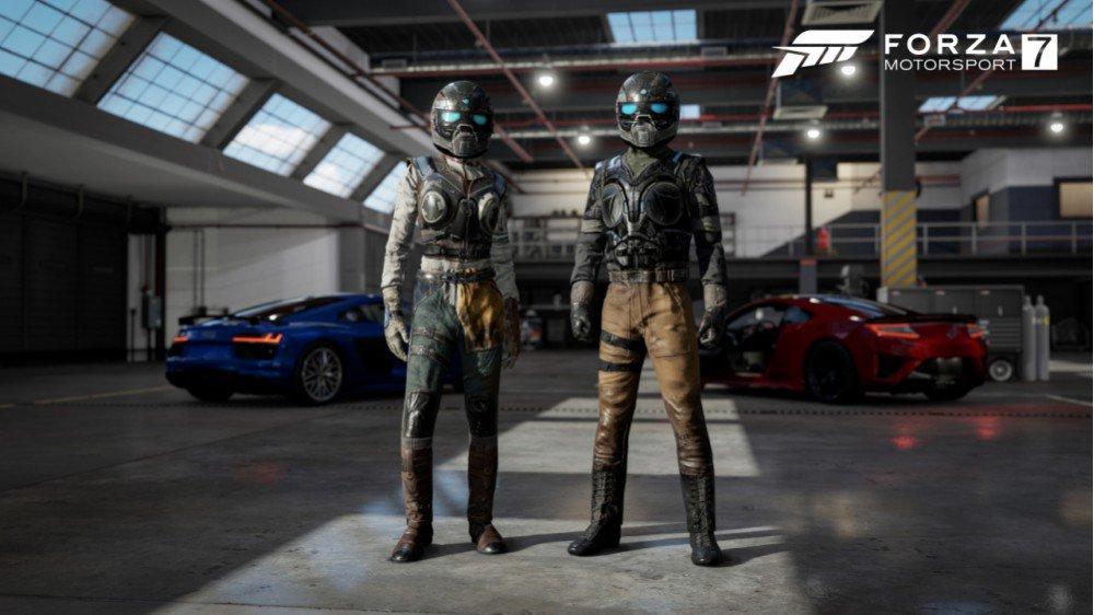 Forza 7 GOW4 - Forza Motorsport 7, in arrivo le tute dei piloti di Gears of War 4