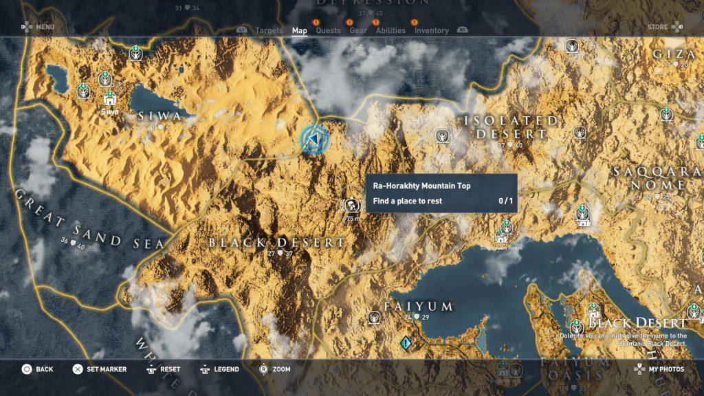 Hermit BlackDesert 01 1024x576 - Guida Assassin's Creed Origins, dove trovare tutte le Statue di Tolomeo e gli Eremi nascosti