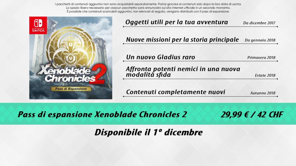 Xenoblade Chronicles 2 - Xenoblade Chronicles 2, nuove missioni in arrivo questa settimana