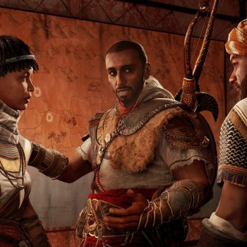 ACO Screenshot DLC1 TahiraBayekGamilat 1516056442 JPG 350x350 - Recensione Assassin's Creed Origins - The Hidden Ones