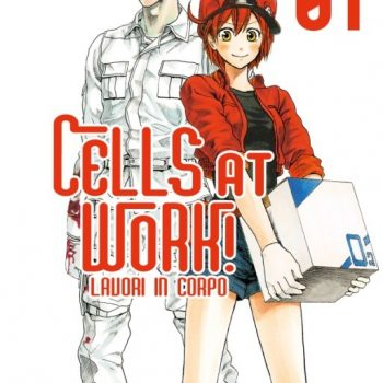 Cell At Work 350x350 - Star Comics, Cells At Work - Lavori in Corpo n. 1 di Akane Shimizu arriverà il 21 marzo