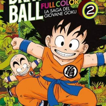 DB Full Color n°2 Copertina 350x350 - Recensione Dragon Ball Full Color – La Saga del Giovane Goku n°2