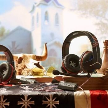 Far Cry 5 350x350 - Thrustmaster, annunciati due diversi modelli di cuffie a tema Far Cry 5