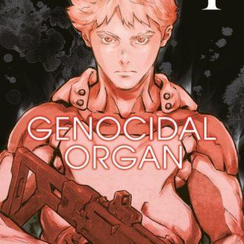 GENOCIDAL ORGAN 350x350 - Star Comics, il primo volume di GENOCIDAL ORGAN sarà disponibile il 14 marzo