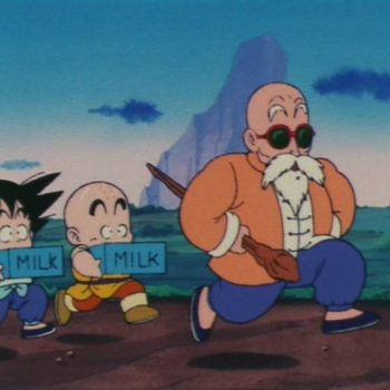 Muten Goku Crilin 350x350 - Recensione Dragon Ball Full Color – La Saga del Giovane Goku n°2