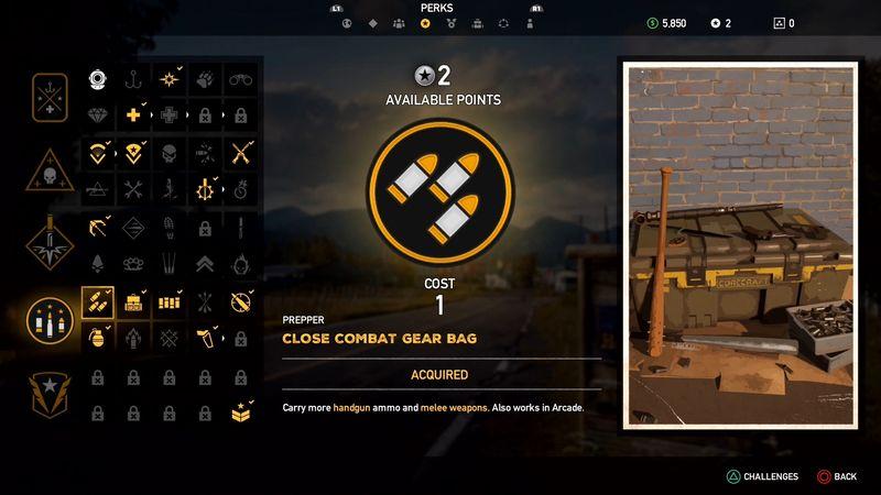 PREPPER - Far Cry 5, guida alle abilità