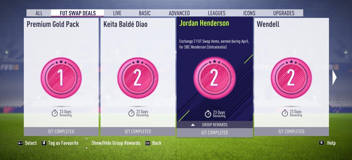 Deals - FIFA 18 - FUT Ultimate Team, quello che c'è da sapere sui Swap Deals
