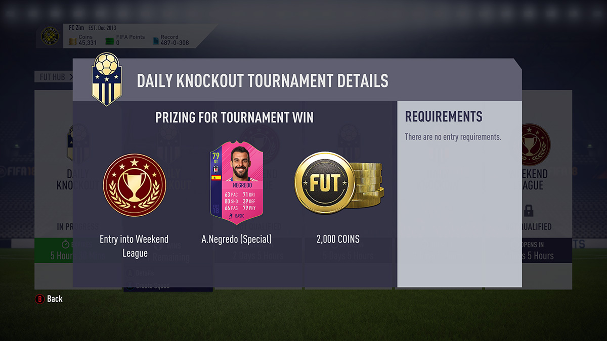 Fut Champions Tournament - FIFA 18 - FUT Ultimate Team, quello che c'è da sapere sui Swap Deals