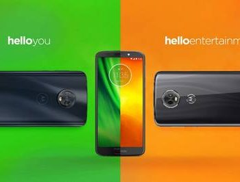 Motorola 350x266 - Motorola presenta le nuove famiglie di smartphone moto g6 e moto e5