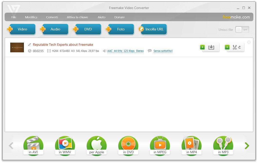 freevideoconverter4 - Freemake Video Converter: uno strumento universale per la conversione video