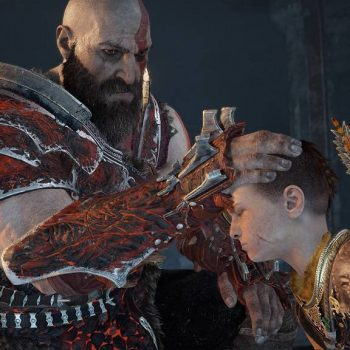 God of War Dad and Son 350x350 - God of War, la nostra recensione