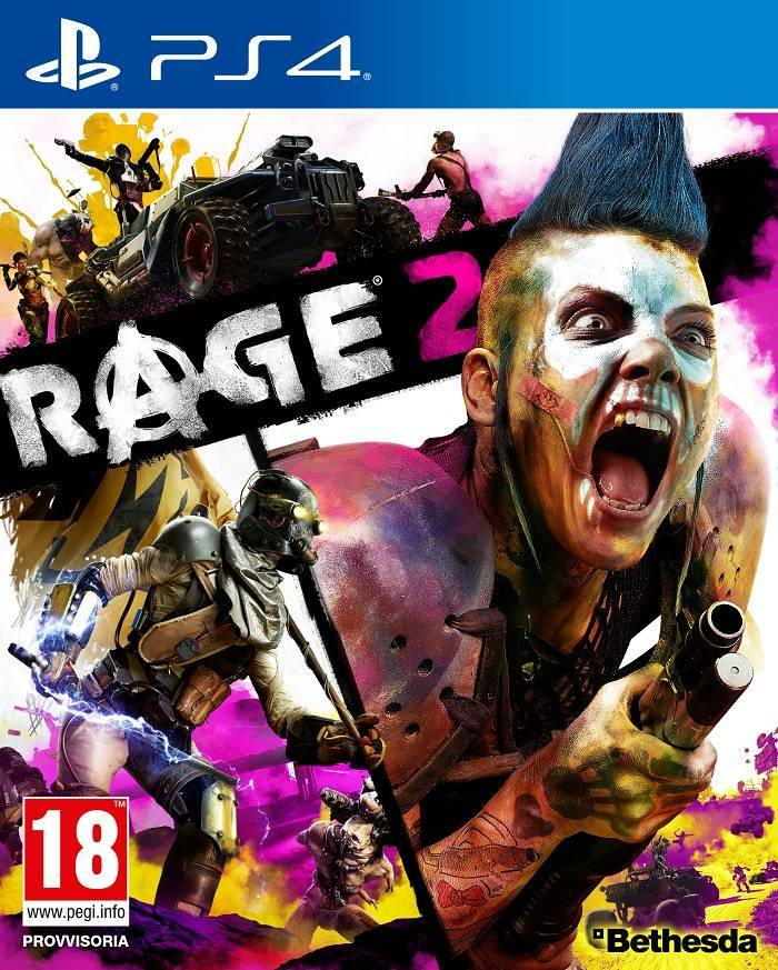 RAGE 2 PS4 pack it pegi 1526376300 - id Software e Avalanche Studios scatenano il caos con il trailer completo di Rage 2