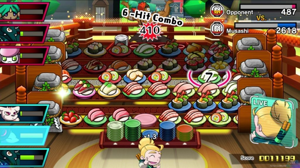 1 FILEminimizer 1024x576 - Sushi Striker: The Way of Sushido, una recensione da leccarsi i baffi