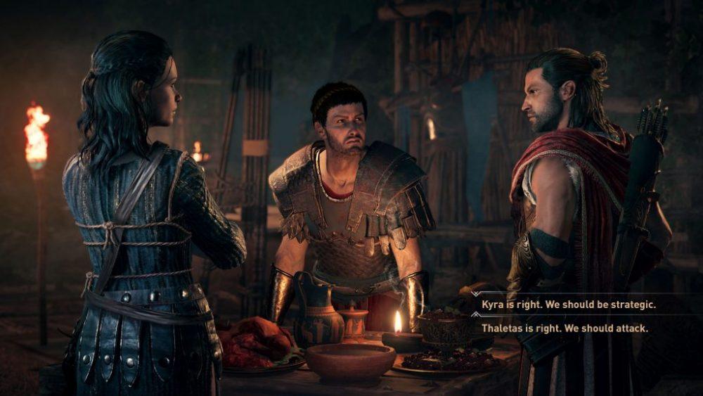 assassins creed odyssey dialoghi e1530270323800 - Assassin's Creed Odyssey: ecco cosa ne pensiamo