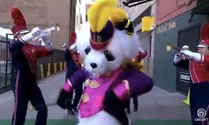 dancing panda ubisoft - E3 2018, Ubisoft apre la conferenza con un pelosissimo panda