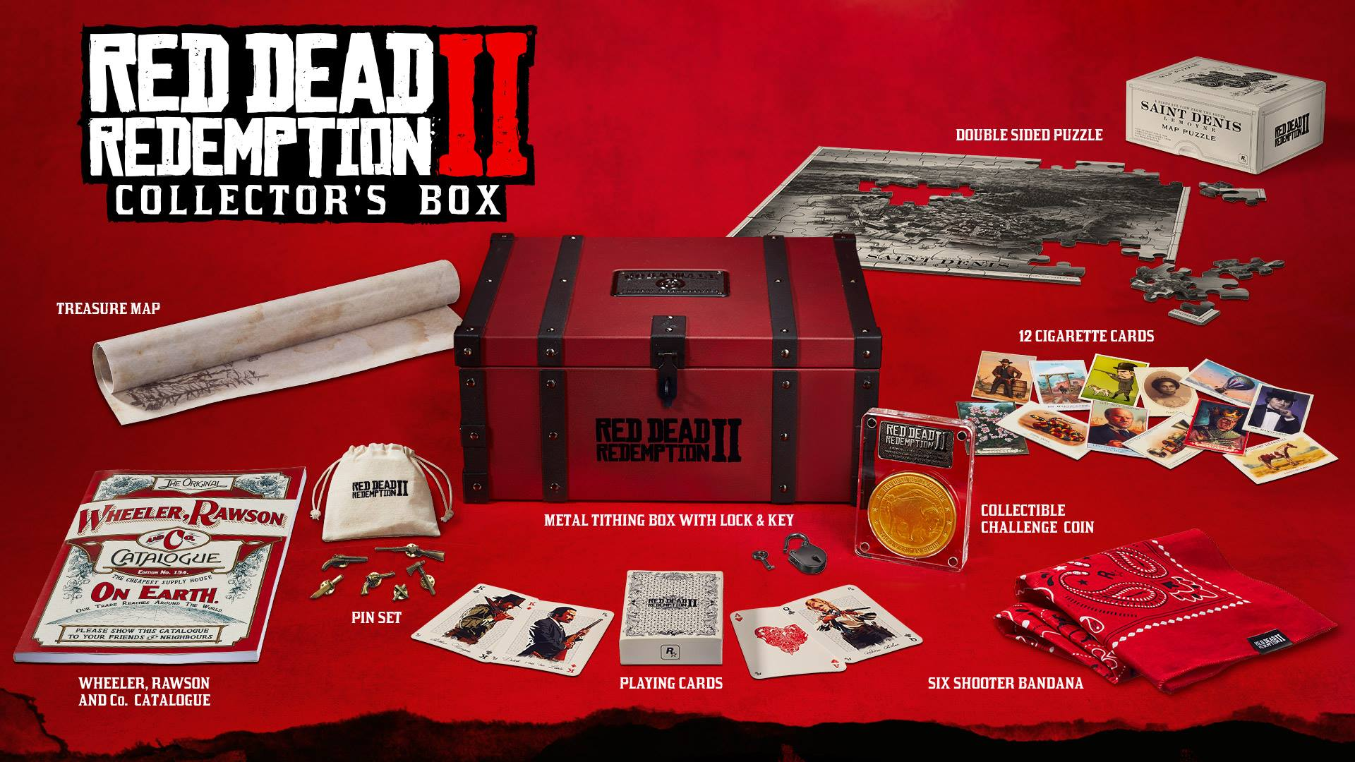 rdr 2 collector box - Red Dead Redemption 2, svelate le edizioni speciali e i bonus preordine