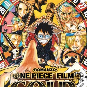 One Piece Gold Il FIlm Romanzo 350x350 - One Piece Gold: Il FIlm - Romanzo, disponibile da domani
