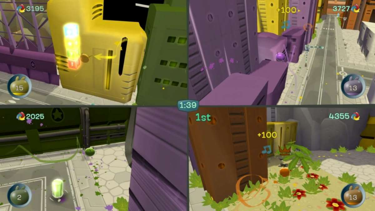 de blob switch multiplayer - De Blob per Nintendo Switch: la nostra recensione