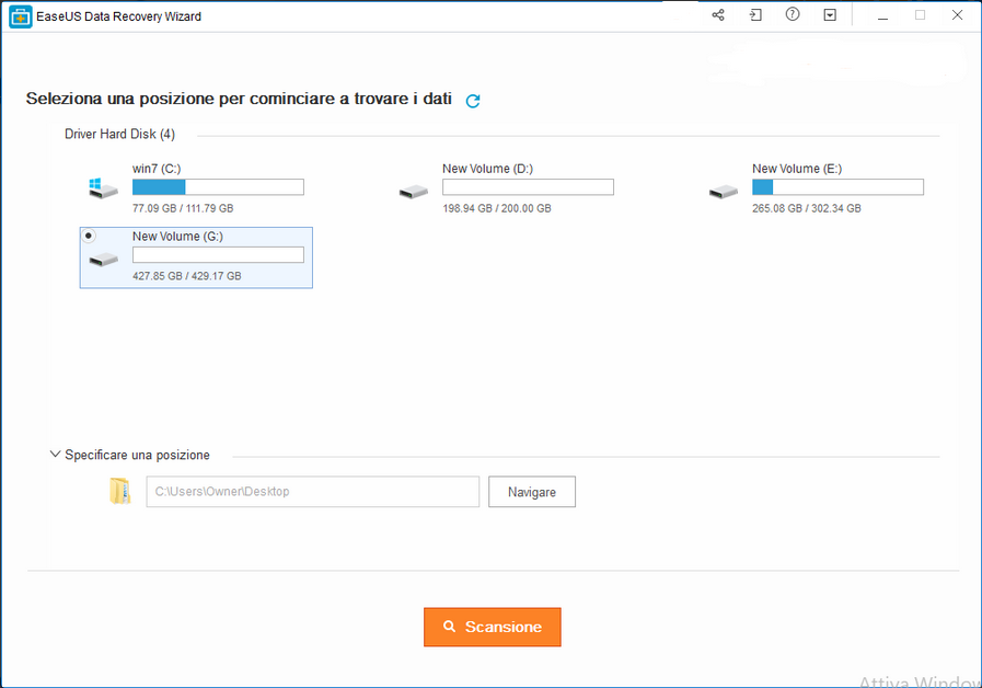 easeus2 - Recensione EaseUS Data Recovery Wizard Free 12.0