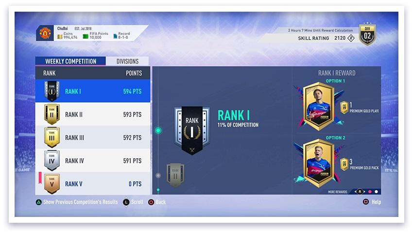 FIFA19 Tile Medium FUT Weekly Score md 2x - FIFA 19, tutto quello che c'è da sapere