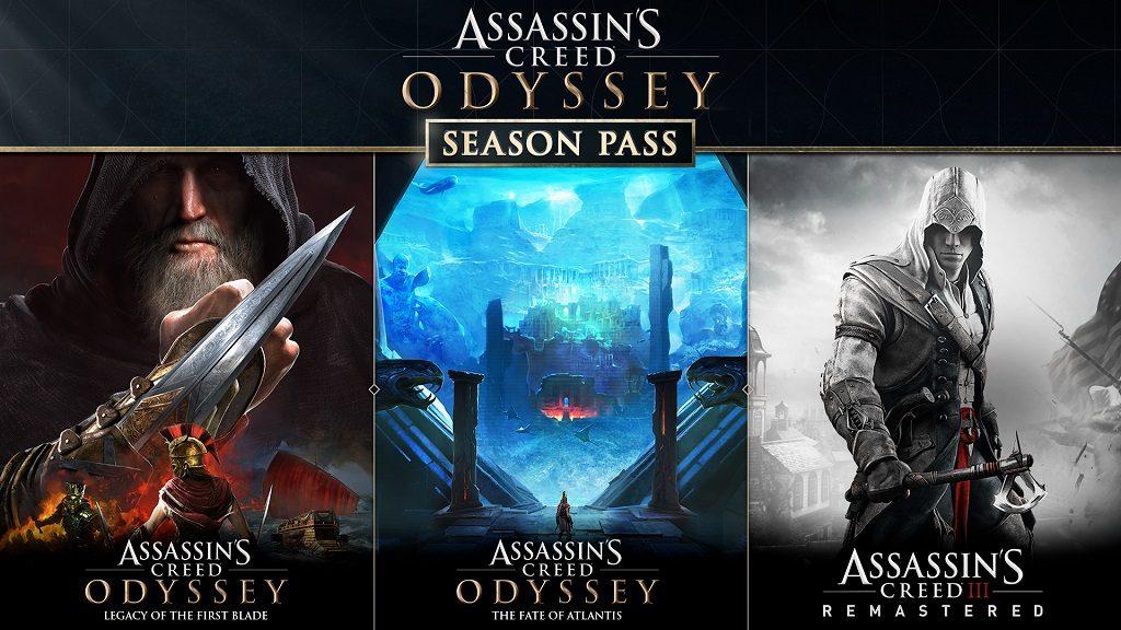 ACOD art Season Pass 1024x576 - Ubisoft, annunciato il piano post lancio per Assassin's Creed Odyssey