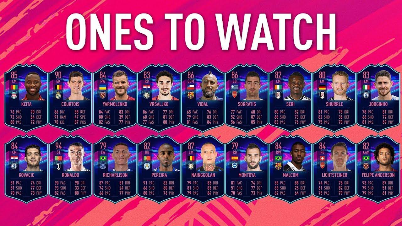 OTW - FIFA 19 FUT - Ultimate Team, tutto quello che c'è da sapere sui OTW (Ones to Watch)