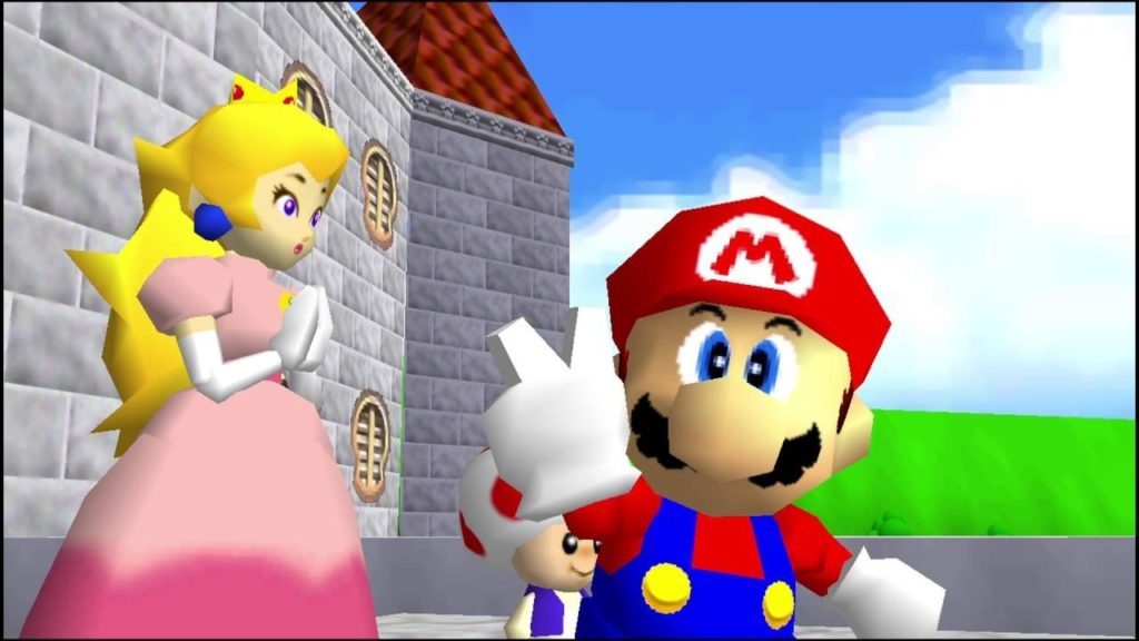 mario 64 story end - Back 2 The Past, parliamo di Mario 64