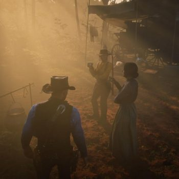 3455117 33 rdr2 ps4pro raidingarmsdealer withlenny.mov.00 00 29 20.still001 350x350 - Red Dead Redemption 2, la nostra recensione
