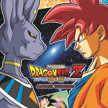 Dragon Ball Z La Battagli degli Dei – Anime Comics 350x350 - Star Comics, presentato il volume unico di Dragon Ball Z: La Battaglia degli Dei – Anime Comics