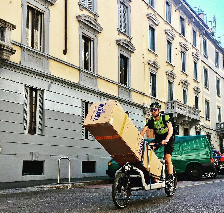 Tediber in bicicletta 1 - Intervista ad Alice Mordonini di Tediber, il volto nuovo del dormire bene