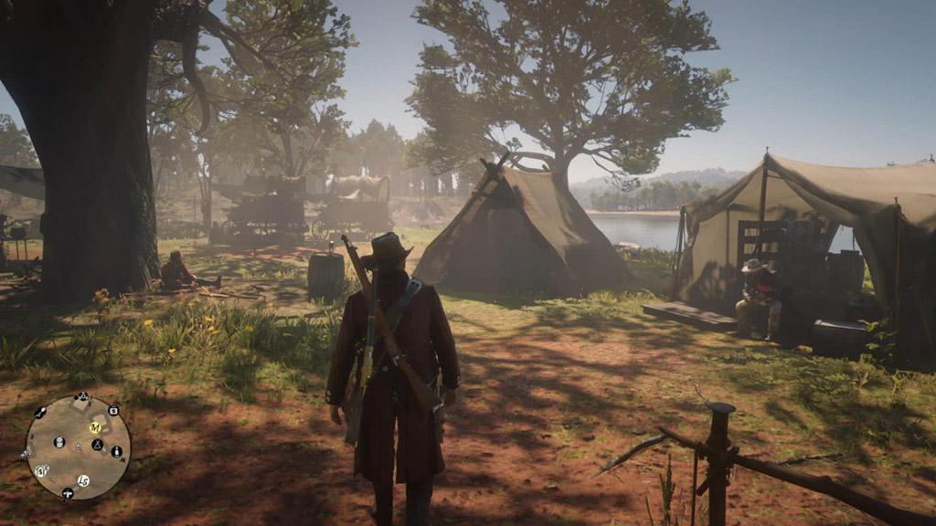 red dead redemption 2 camp - Red Dead Redemption 2, 8 consigli per sopravvivere nel Selvaggio West