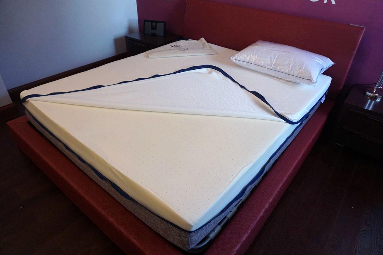 DSC03009 - Recensione materasso e cuscino Tediber