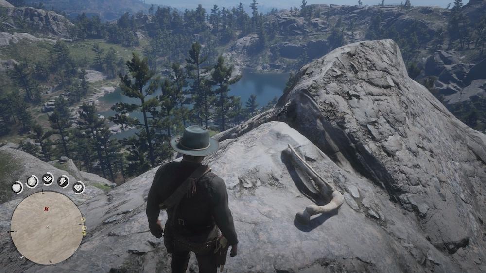 Osso Dinosauro 12 - Red Dead Redemption 2, dove trovare tutte le ossa di dinosauro