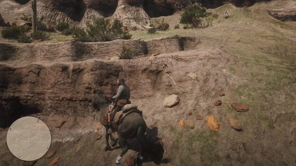 Osso Dinosauro 28 - Red Dead Redemption 2, dove trovare tutte le ossa di dinosauro