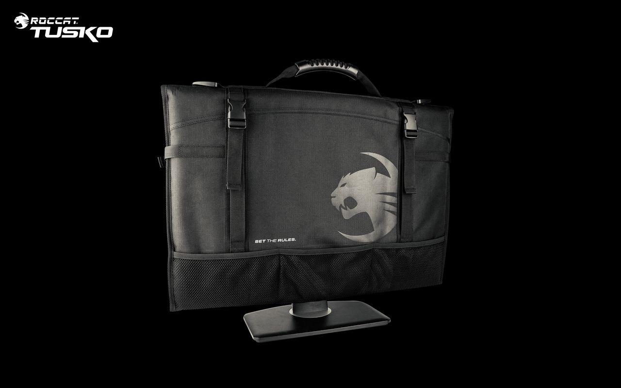 """ROC Tusko 2018 back with Monitor - Roccat presenta gli accessori """"Unplugged"""" per completare la vostra postazione di gioco"""