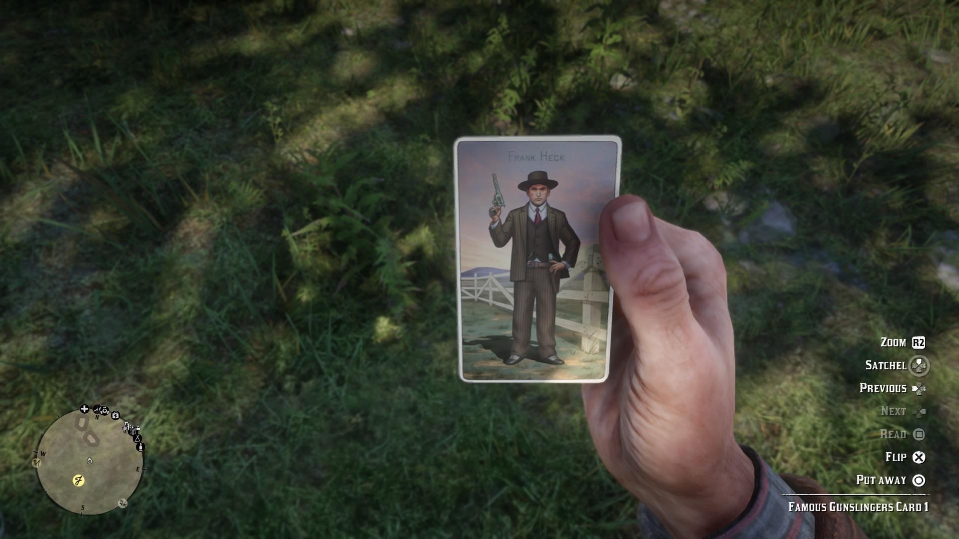 Red Dead Redemption 2 20181102172818 - Red Dead Redemption 2, dove trovare tutte le figurine delle sigarette senza doverle cercare nella mappa di gioco