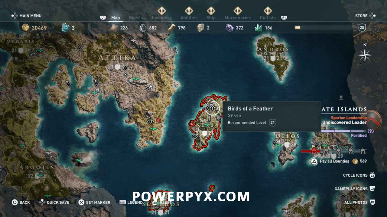 assassins creed odyssey xenia location - Assassin's Creed Odyssey, i tesori di Xenia