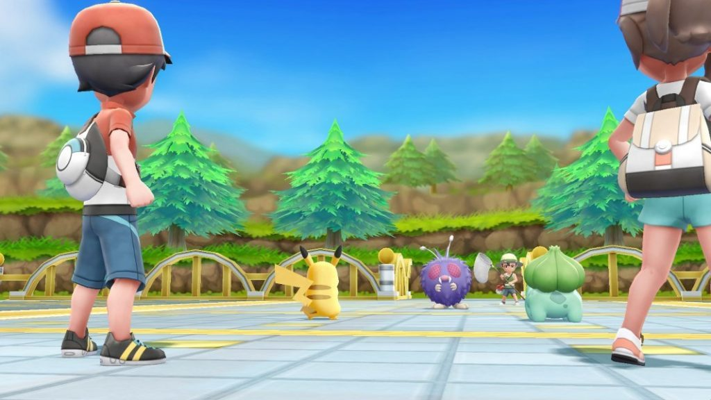 pokemon lets go combat 1024x576 - Pokemon: Let's Go Pikachu - Eevee - la nostra recensione